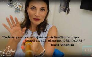 ioana-ginghina epilare definitiva cu laser clinica de dermatologie estetica yiara