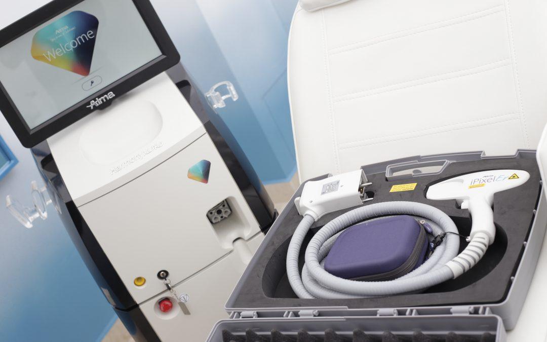 Clinica Yiara are de acum cel mai performant laser din lume: Harmony XL Pro, de la Alma Lasers!